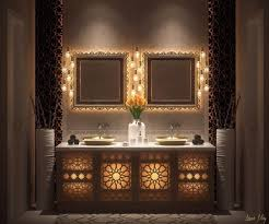 Inspirational Moroccan Bathrooms Ideas That Will Provide You Real ... Fancy Mid Century Modern Bathroom Layout Design Ideas 21 Small Decorating Bathroom Ideas Small Decorating On A Budget Singapore Bathrooms 25 Best Luxe With Master Style Board Lynzy Co Accsories Slate Tile Black Trim Home Unique Mirror The Newest Awesome 20 Colorful That Will Inspire You To Go Bold Better Homes Gardens