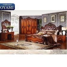 Latest Design Royal Classic Italian Provincial Bedroom Furniture Set