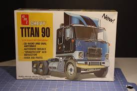 AMT CHEVROLET TITAN 90 TRUCK TRACTOR 1/25 Scale SEALED KIT | Model ...