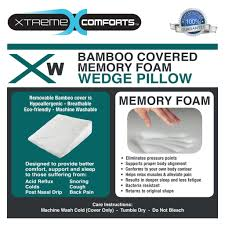 Bed Wedge Acid Reflux by Xw Wedge Pillow Xtreme Comforts