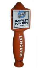 Harvest Moon Pumpkin Ale by Blue Moon Belgian White Wheat Ale 9 5 Ceramic Beer Tap Handle