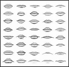 How To Draw Kissing Lips Easy Tags