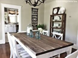 Best 25 Rustic Kitchen Tables Ideas On Pinterest Farm House Throughout Table Decor 8