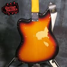 Fender Kurt Cobain Jaguar Road Worn Electric Guitar Book Hard