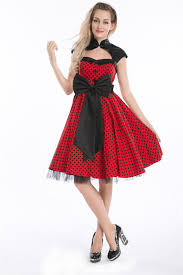 plus size vintage rockabilly dresses clothing for large ladies