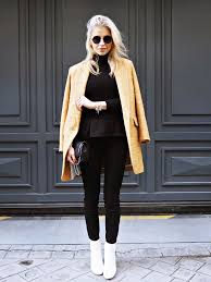 Mustard Is The Ultimate Colour For A Cute Winter Outfit Caroline Daur Wearing