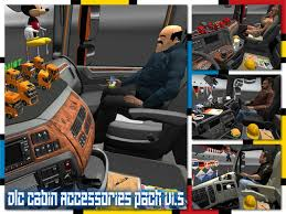 Dlc Cabin Accessories Pack V1.5 1.21 | ETS2 Mods | Euro Truck ...