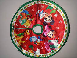 MICKEY MOUSE MINNIE DONALD DUCK PLUTO 16quot CHRISTMAS TREE