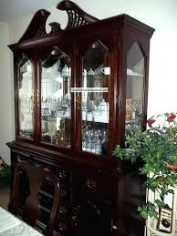 Dining Room China Cabinet Buffet Ambassador Lunch Sets With And Used