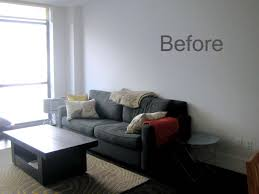 i think light gray walls are so pretty with neutral furniture when