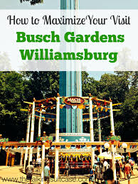 to Maximize Your Visit to Busch Gardens Williamsburg