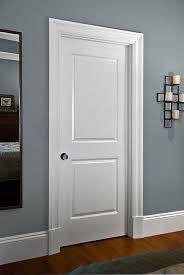 Moulding makes a difference 2 panel molded door from Masonite