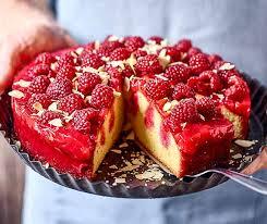 himbeer poke cake