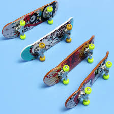 New Wooden FingerBoard Gift Professional Finger Skateboard Boy ...