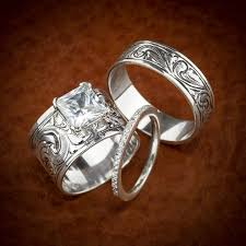 Western Wedding Ring Rings Bands Engagement Hyo Silver Design
