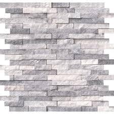alaska gray splitface 12 in x 12 in x 10 mm marble mesh mounted