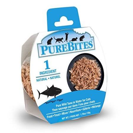 PureBites Whole Food Wild Tuna in Water Cat Food - 1.76oz