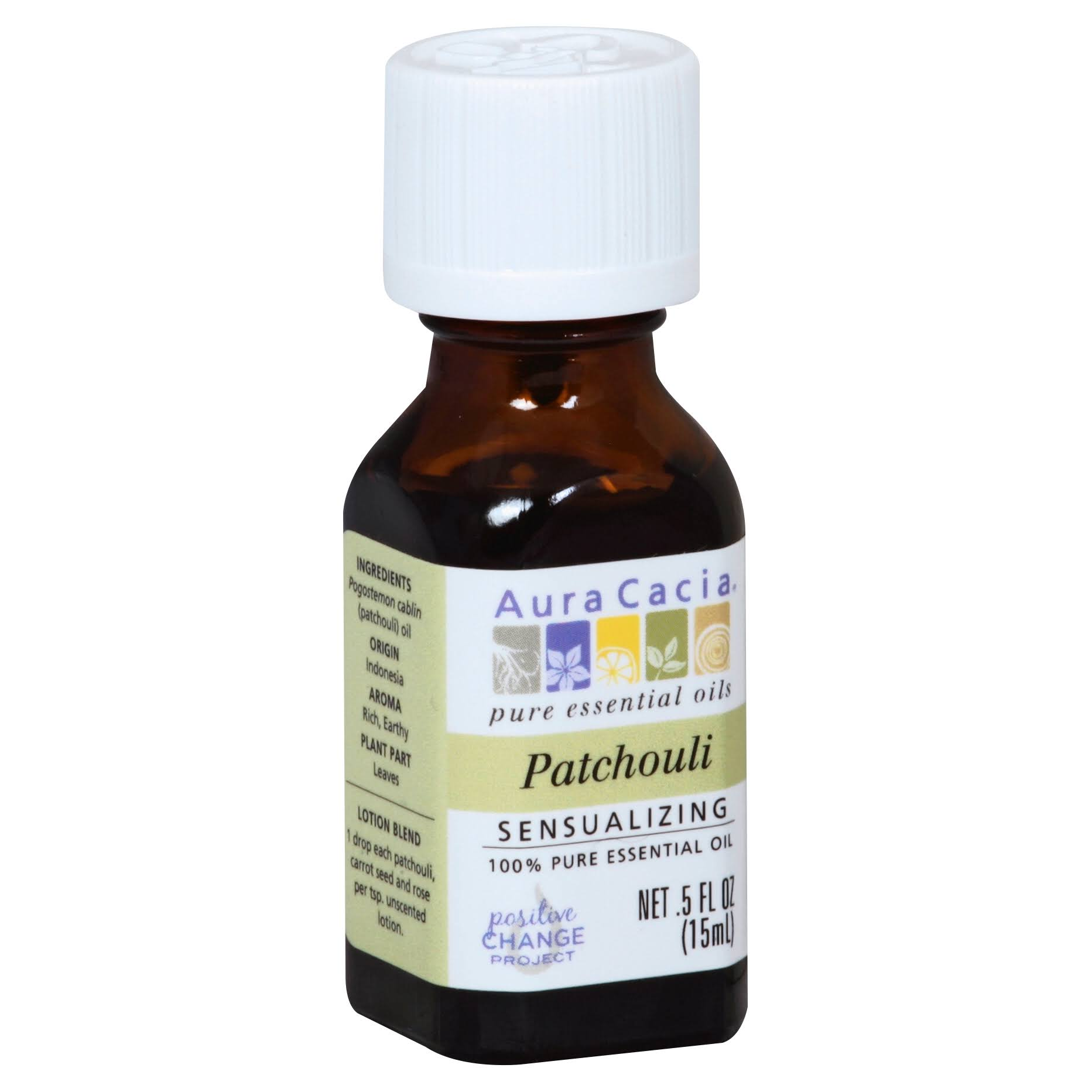 Aura Cacia Sensualizing Pure Essential Oil - Patchouli