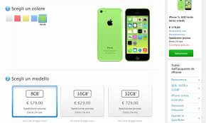 Apple launches smaller capacity 8GB iPhone 5c in Italy Sweden