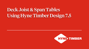 Floor Joist Spans Australia by Deck Joists U0026 Span Tables Using Hyne Timber Design 7 5 Youtube