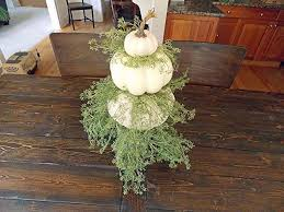 FALL PUMPKIN CENTERPIECE Fall Centerpiece Table Centerpieces White Pumpkin Decor
