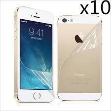 10pcs lot High quality LCD Clear Front Screen Protector Guard For