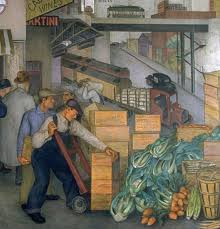 Coit Tower Murals Diego Rivera by Ashfield Capital Partners Antonio J Chac U0026 243 N