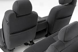 Black Neoprene Seat Covers For 1999-2006 Chevy / GMC 1500 | Rough ...