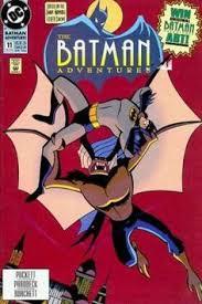 Color Palette For Batman In Mask Of The Phantasm