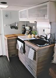 Image Of Old Camper Remodel Kitchen