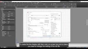 Autocad Print Color