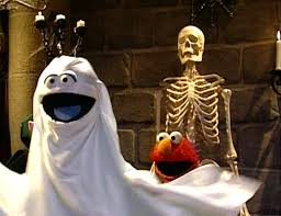 Sesame Street A Magical Halloween Adventure Vhs by Elmo Says Boo Wiki Fandom Powered By Wikia