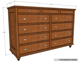 12 free diy woodworking plans for building your own dresser the