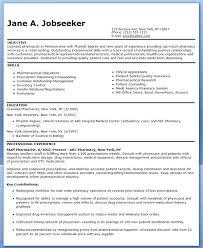 Retail Pharmacist Resume Example Of Best