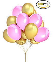 Pink And Gold Birthday Themes by Amazon Com Pink And Gold Birthday Decorations Elegant Design