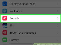 How to Adjust Alarm Volume on an iPhone 3 Steps with