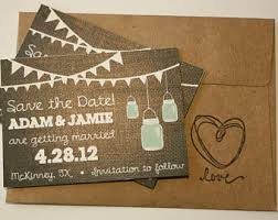 Mason Jar Magnet Or Card Save The Date