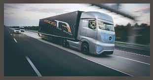 Wow.. Truck Masa Depan Mercedes Benz
