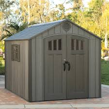 Lifetime 10x8 Shed Assembly by Lifetime 8 Ft X 10 Ft Outdoor Storage Shed