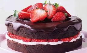 gebäck schoko erdbeer torte kuchen und torten schoko