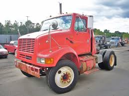 100 Day Cab Trucks For Sale 2000 International 8100 Single Axle Tractor For Sale By