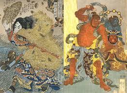 Japanese Folk Art Paintings