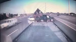 Dash Cam Video Shows Vehicle Ploughing Into Truck Initially Involved ...