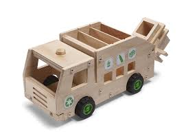 amazon com red tool box recycling truck building kit toys u0026 games