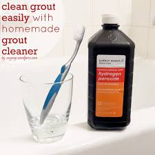 cleaning grout with grout cleaner angela says