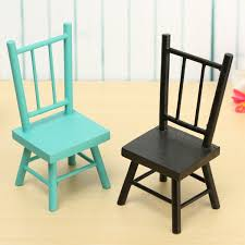 Mini Small Chair Photography Props Dollhouse Park Furniture