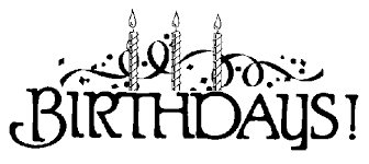 Birthday black and white birthday present black and white clipart