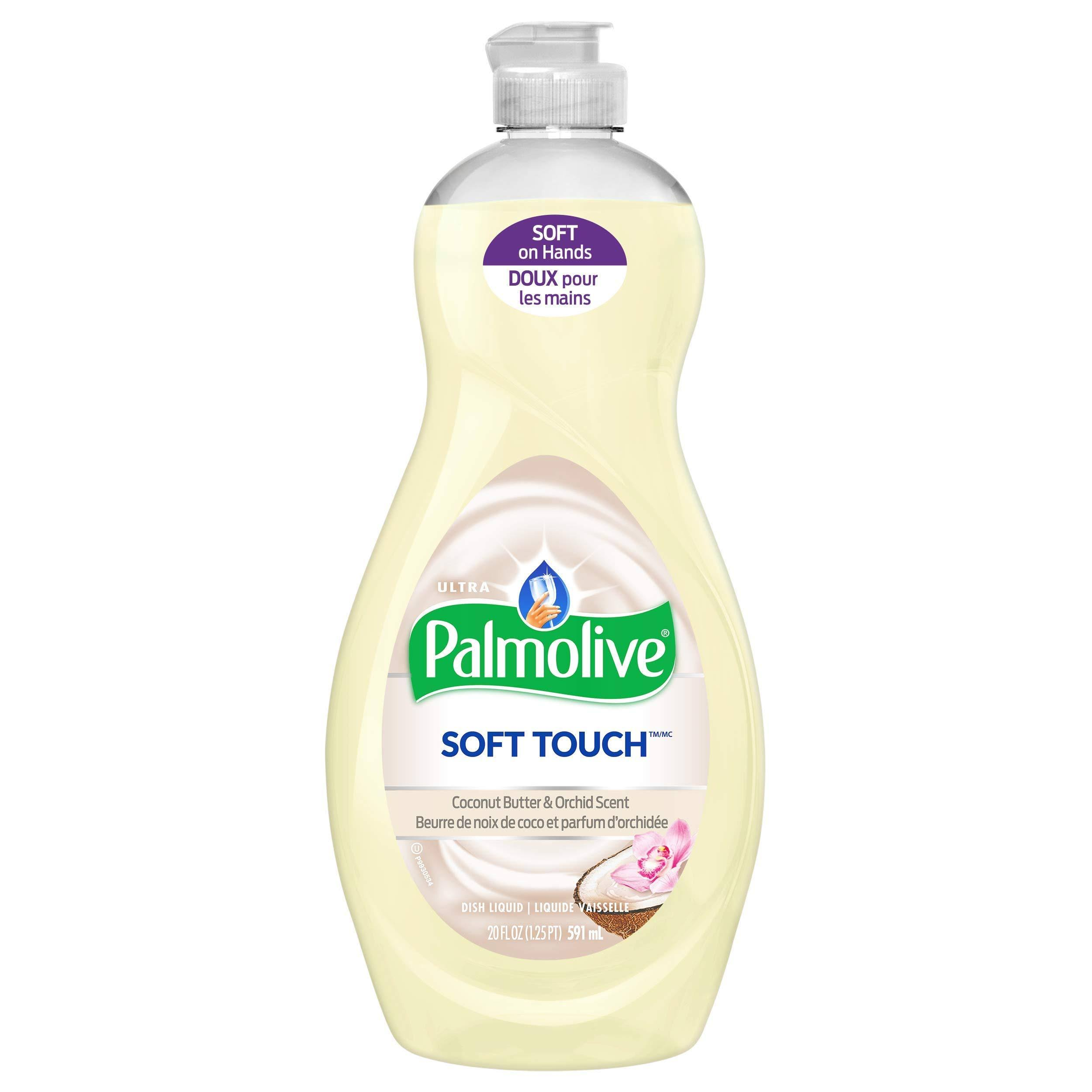 Palmolive Soft Touch Dish Soap - Coconut Butter & Orchid, 591ml