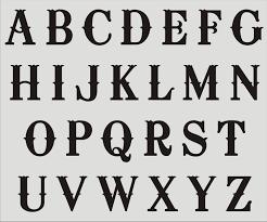 5 Best Images Of Fancy Alphabet Letter Stencil Fancy Letter