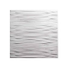 Black Ceiling Tiles 2x4 by Genesis Ceiling Tile 2x2 Drifts Tile In White